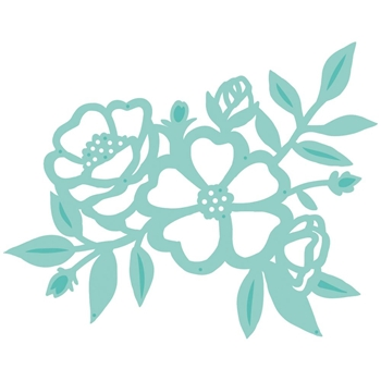 Kaisercraft PEONY CLUSTER Decorative DIY Die Cut DD817