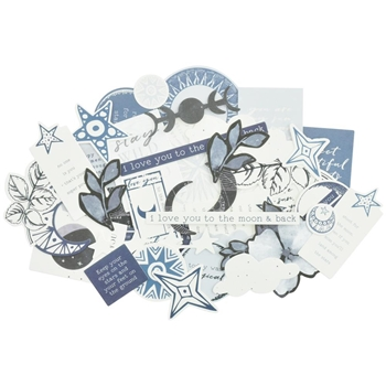 Kaisercraft STARGAZER Collectables Die Cut Shapes CT937