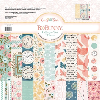 BoBunny 12 x 12 EARLY BIRD Collection Pack 7310075