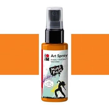 Marabu TANGERINE Acrylic Art Spray 12099005225