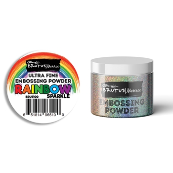 Brutus Monroe RAINBOW SPARKLE Ultra Fine Embossing Powder bru5100
