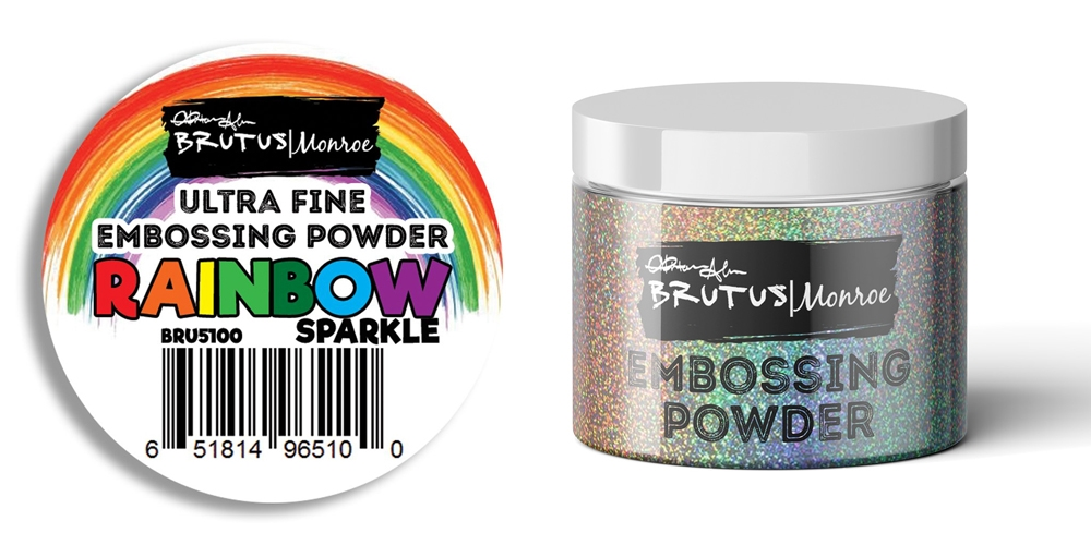 Brutus Monroe RAINBOW SPARKLE Ultra Fine Embossing Powder bru5100 zoom image