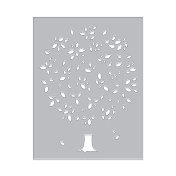 Hero Arts TREE AND LEAF Confetti Die DI493