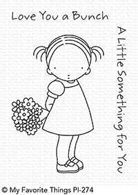 Pure Innocence LOVE YOU A BUNCH Clear Stamps PI274