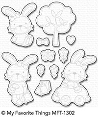 My Favorite Things SWEET SOMEBUNNY Die-Namics MFT1302