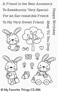 My Favorite Things SWEET SOMEBUNNY Clear Stamps CS286 zoom image
