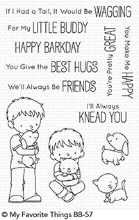 My Favorite Things LITTLE BUDDIES Clear Stamps BB57 Preview Image