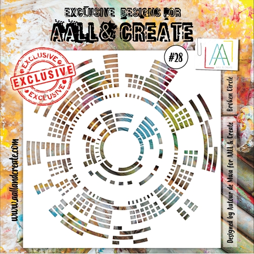 AALL & Create STENCIL 28 aal10028 Preview Image