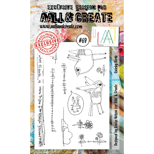AALL & Create QUIRKY BIRDS 69 Clear Stamp Set aal00069  Preview Image