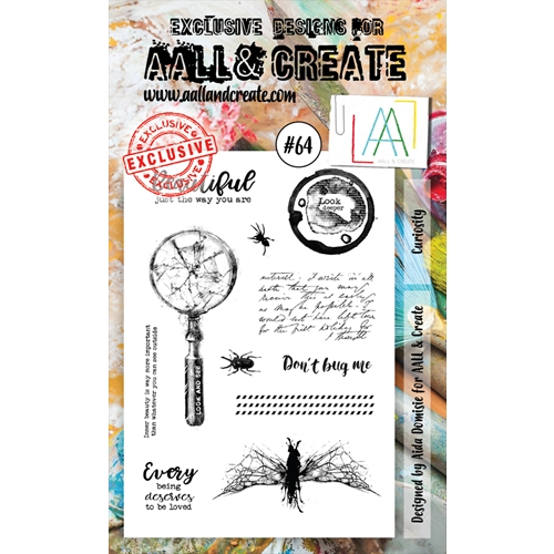 AALL & Create CURIOSITY 64 Clear Stamp Set aal00064  Preview Image
