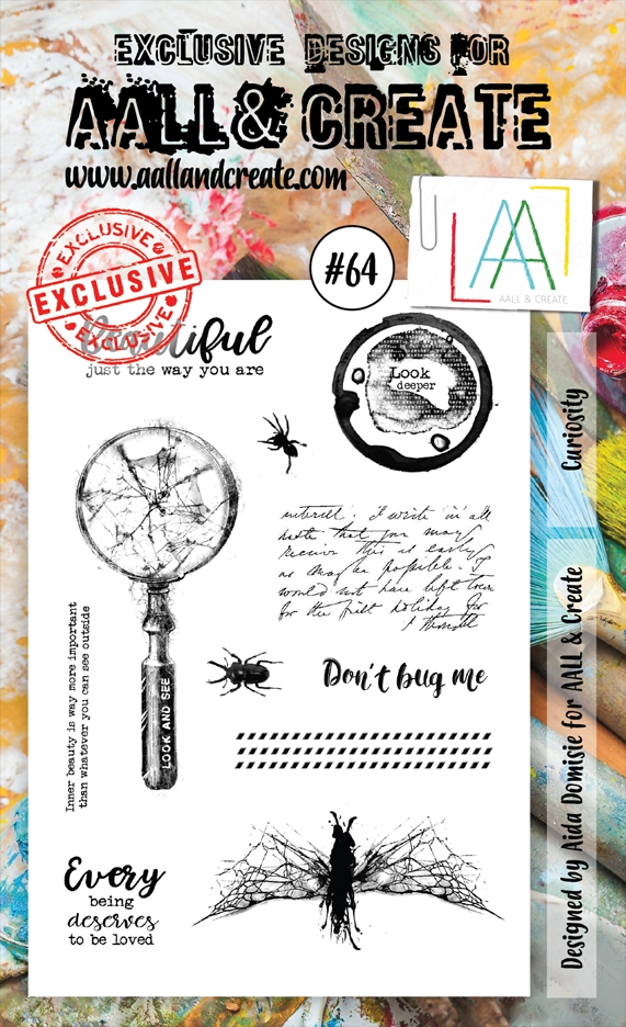AALL & Create CURIOSITY 64 Clear Stamp Set aal00064  zoom image