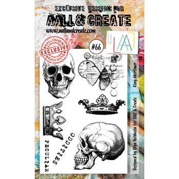 AALL & Create KING MORTIMER 66 Clear Stamp Set aal00066