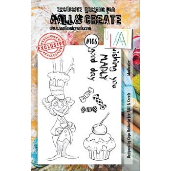 AALL & Create MADHEATER 106 Clear Stamp Set aal00106