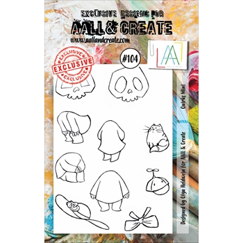 AALL & Create QUIRKS MINI 104 Clear Stamp Set aal00104