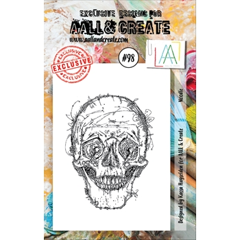 AALL & Create NOODLE 98 Clear Stamp Set aal00098