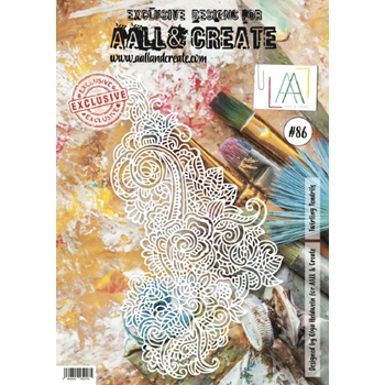 AALL & Create ZARA 86 Clear Stamp Set aal00086