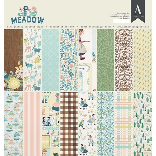 Authentique MEADOW 12 x 12 Collection Kit mea012 Preview Image