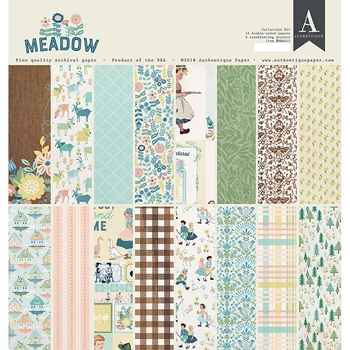 Authentique MEADOW 12 x 12 Collection Kit mea012