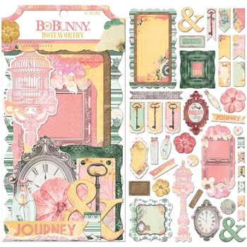 BoBunny SUNSHINE BLISS Die Cuts Noteworthy 7310198