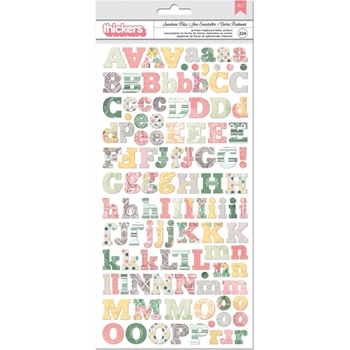 BoBunny SUNSHINE BLISS Thickers Stickers 7310205