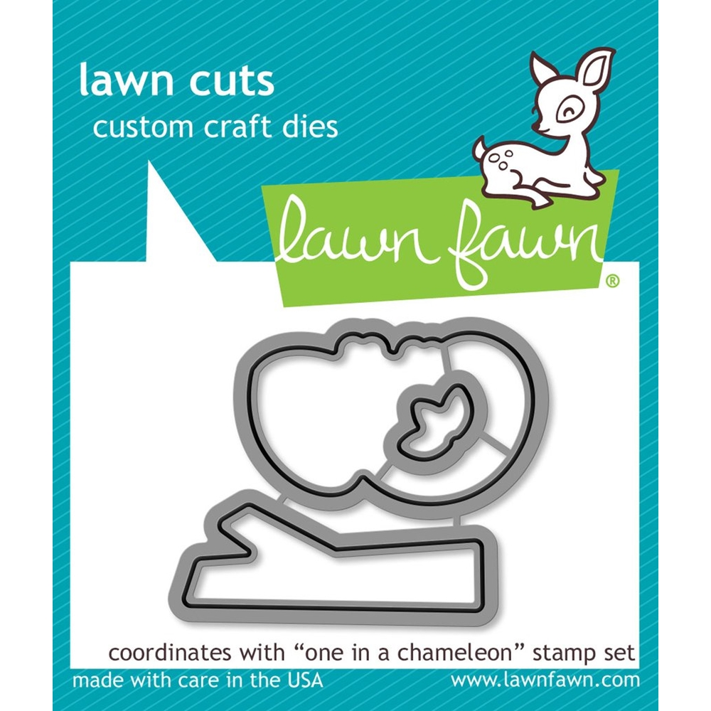Lawn Fawn ONE IN A CHAMELEON Die Cuts LF1550 zoom image
