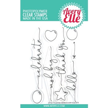 Avery Elle Clear Stamps FLOATING WISHES ST-18-17