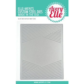 Avery Elle Steel Dies HATCH MAT D-07-09
