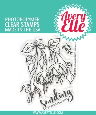 Avery Elle Clear Stamps FUCHSIA ST-18-21* zoom image