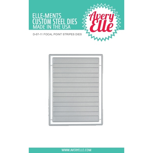 Avery Elle Focal Point Stripes Craft Die