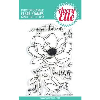 Avery Elle Clear Stamps MAGNOLIA ST-18-20
