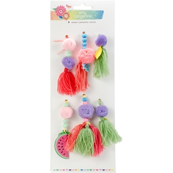 American Crafts Amy Tangerine TASSELS Sunshine and Good Times 345711