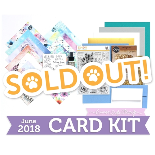 Simon Says Stamp Card Kit of The Month JUNE 2018 FLY ME AWAY ck0618 Preview Image