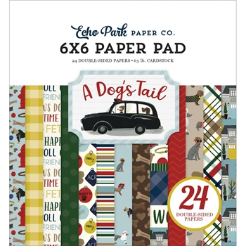 Echo Park A DOG'S TAIL 6 x 6 Paper Pad adt155023