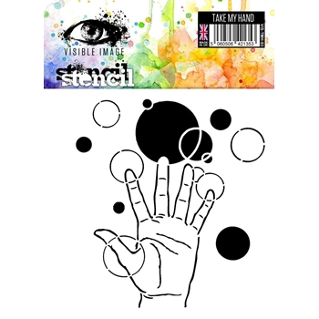 Visible Image TAKE MY HAND Stencil VIS-TMH-03