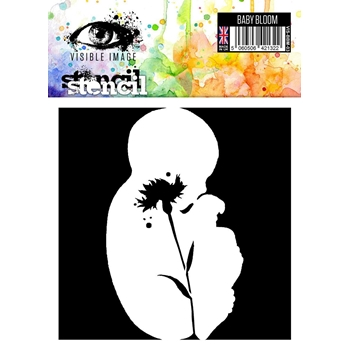 Visible Image BABY BLOOM Stencil VIS-BBM-03