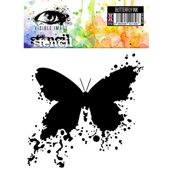 Visible Image BUTTERFLY INK Stencil VIS-BFI-03