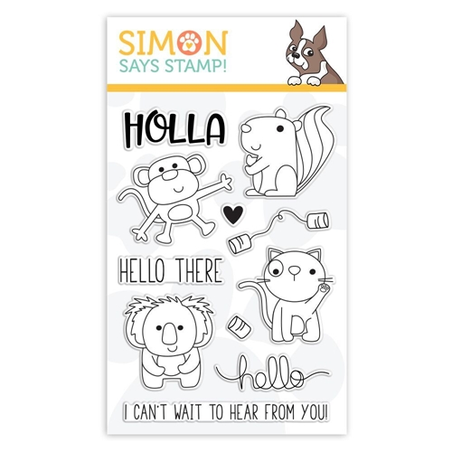 Simon Says Clear Stamps HELLO THERE sss101845 Sending Sunshine Preview Image