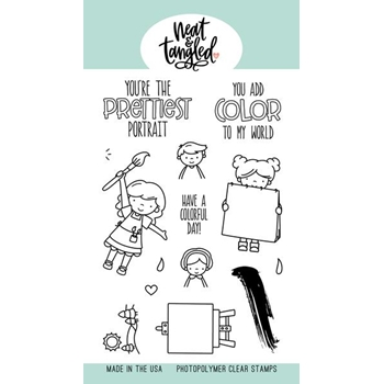 Neat and Tangled PAINT NIGHT Clear Stamps NAT378