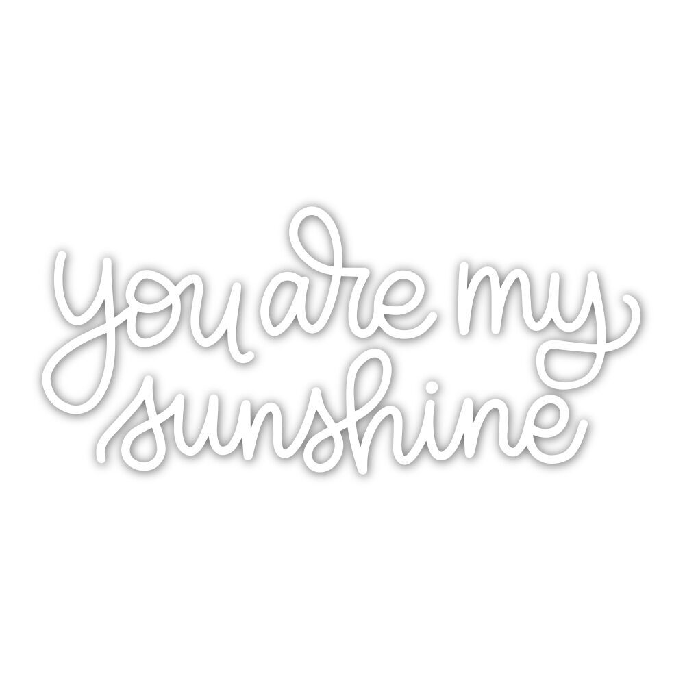 Simon Says Stamp YOU ARE MY SUNSHINE Wafer Dies sssd111834 Sending Sunshine zoom image