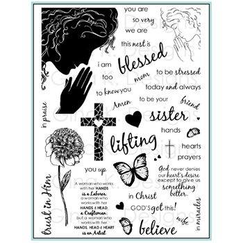 Gina K Designs WOMEN OF FAITH Clear Stamps 4396