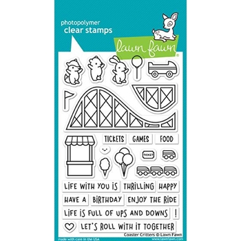 Lawn Fawn COASTER CRITTERS Clear Stamps LF1694