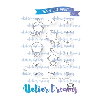 Atelier Dreams LITTLE ONES Clear Stamp Set adg030