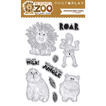 PhotoPlay WE BOUGHT A ZOO Clear Stamps wbz8956
