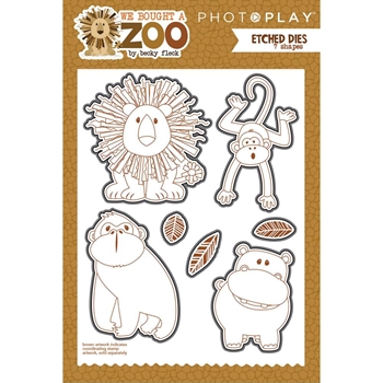 PhotoPlay WE BOUGHT A ZOO Die Set wbz8957