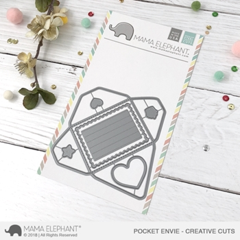 Mama Elephant POCKET ENVIE Creative Cuts Steel Dies