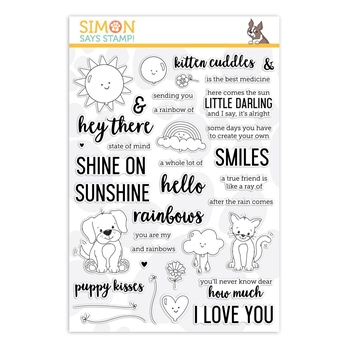 Simon Says Clear Stamps HEY THERE SUNSHINE sss101865 Sending Sunshine