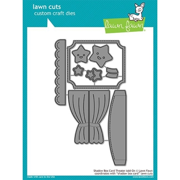 Lawn Fawn SHADOW BOX THEATER ADD ON Die Cuts LF1706