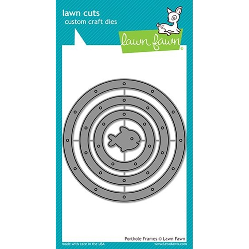 Lawn Fawn PORTHOLE FRAMES Die Cuts LF1715 at Simon Says STAMP!