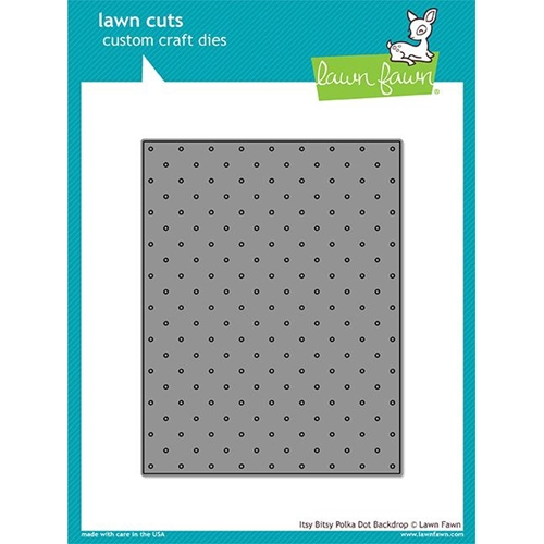 Lawn Fawn ITSY BITSY POLKA DOT BACKDROP Lawn Cut LF1721 Preview Image