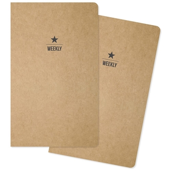 Simple Stories WEEKLY TRAVELER'S NOTEBOOK INSERTS 10202